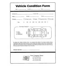 car damage report template vehicle condition report templates word excel sles
