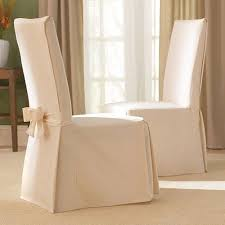 sure fit dining chair slipcovers sure fit cotton duck dining room chair slipcover