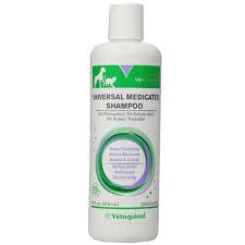 vet solutions universal medicated shampoo 16 oz