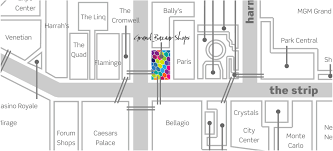 Las Vegas Hotel Strip Map by Leasing U2013 Grand Bazaar Shops