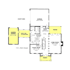 colonial style house plan 4 beds 2 50 baths 2248 sq ft plan 20 304