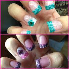 111 best glitter acrylic nail tips images on pinterest acrylic