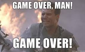 Twister Movie Meme - unfortunately game over for actor bill paxton who played hudson in