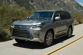 lexus sport car interior 2016 lexus lx 570 gets new look interior tech 35 photos news