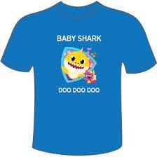 Baby Shark T Shirt Baby Shark Doo Doo Doo 11street Malaysia T Shirts Shirts