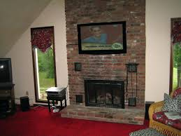 Living Room Fireplace Ideas - living room tv fireplace designs mount on mantel design ideas
