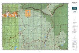Map Of Montana And Idaho by Idaho Gmu 19a Map Mytopo