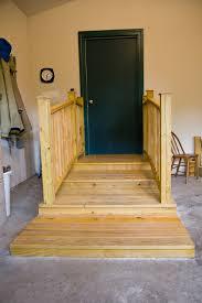 Laminate Flooring In Garage Garage Platform Stairs Garage Stairs With Railings Smart