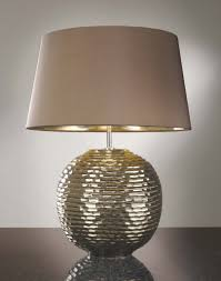 Buffet Lamps With Black Shades by Silver Table Lamps Photo With Fabulous Silver Bedside Dunelm