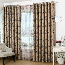 Brown Floral Curtains Captivating Vintage Floral Curtains And Luxury European Floral