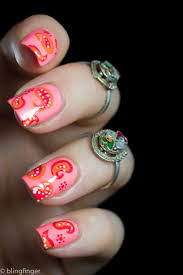 104 best paisley print nails images on pinterest paisley print