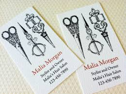 business card custom business card sewing stylist seamstress