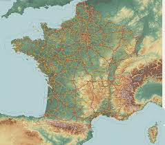 Provence Map Country Maps France