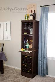 ana white modular bar wine grid hutch diy projects