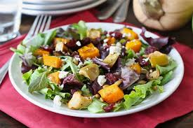 roasted butternut squash salad recipe two peas their pod