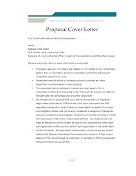 How To Write A Business Letterhead by Rfp Cover Letter Letters Sample Rfp Cover Letter Examples 12 Best