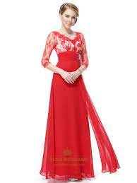 red prom dresses long sleeves red lace prom dresses with sleeves