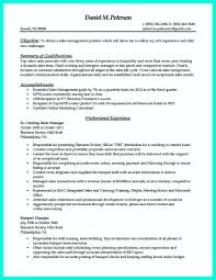 Simple And Attractive Resume Resume For Catering Manager Resume For Your Job Application