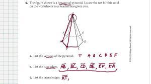 Volume Of Rectangular Prism Worksheet 33 1 Prisms And Pyramids Youtube