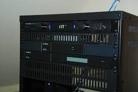 Audio Visual Rack Orinda Residence Visual Sound Solutions
