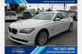 bmw dealership fort myers used bmw 7 series for sale in fort myers fl edmunds