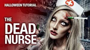 dead nurse special fx halloween tutorial youtube