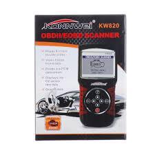 aliexpress com buy konnwei kw820 obd car scanner eobd obdii 2