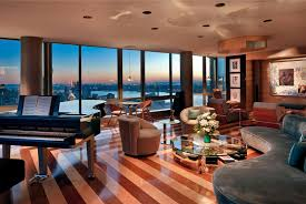 Modern Penthouses Designs Elegant Black And White Nuance Of The Modern Decor Ideas For