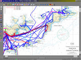 Bvi Map Enjoying Every Day On The Water