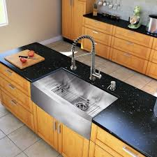 kitchen sink with faucet set vigo all in one 30 camden stainless steel farmhouse kitchen sink