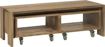 Coffee Tables With Wheels Coffee Table Magnificent Wood Coffee Table With Wheels Table