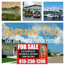 riverside club golf marina florida homes by champion mobile home