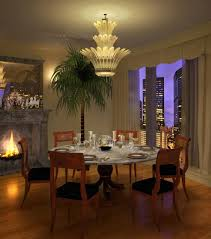 dining room wallpaper high resolution table chandelier