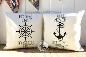 Items Similar To Love Anchors - be the one to guide me but never hold me down pillow case set