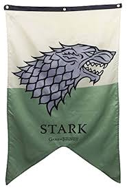 amazon com calhoun game of thrones stark banner 30 x 50 in