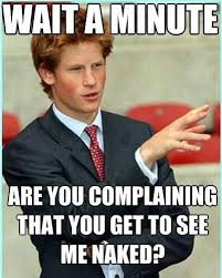 Naked Meme - photos prince harry memes offer naked truth about royal s