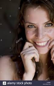 dark haired women cute smiling dark haired women stock photo royalty free image