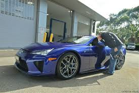 lexus lfa las vegas lexus lfa exclusive behind the scenes video photos 1 of 30