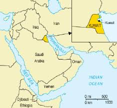 kuwait on a map kuwait does not belong to one sect only jafariya