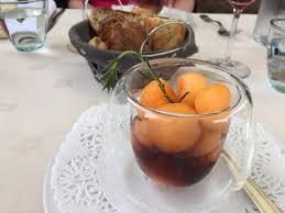 dorade cuisine repas excellent avec de la vraie cuisine melon au pineau dorade