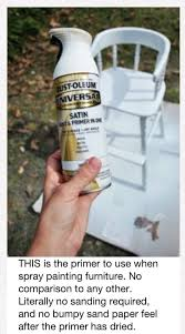 updating an old wooden highchair rustoleum paint best primer