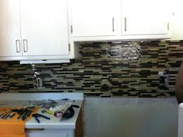 how to grout backsplash tile no grout kitchen awesome kitchen installation cost