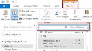outlook 2013 design searching in outlook 2013 tutorial webucator