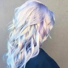 holographic hair color trend popsugar beauty