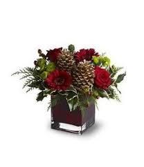 christmas table flower arrangement ideas christmas decor or great gift idea christmas winter pinterest