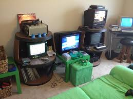 Video Game Home Decor by Small Gaming Room Ideas Cheap Setup For Beginners Bedroom Inspired