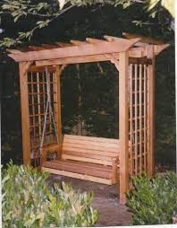 Swing Arbor Plans Best 25 Kids Garden Swing Ideas On Pinterest Garden Swing Sets