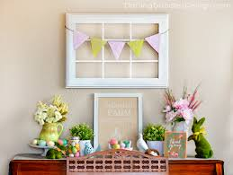 easter mantel decorations easter mantel archives doodles