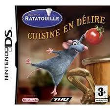 tous les jeux de cuisine ratatouille cuisine en délire sur ds tous les jeux vidéo ds sont