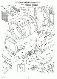 kenmore electric dryer parts diagram automotive parts diagram images